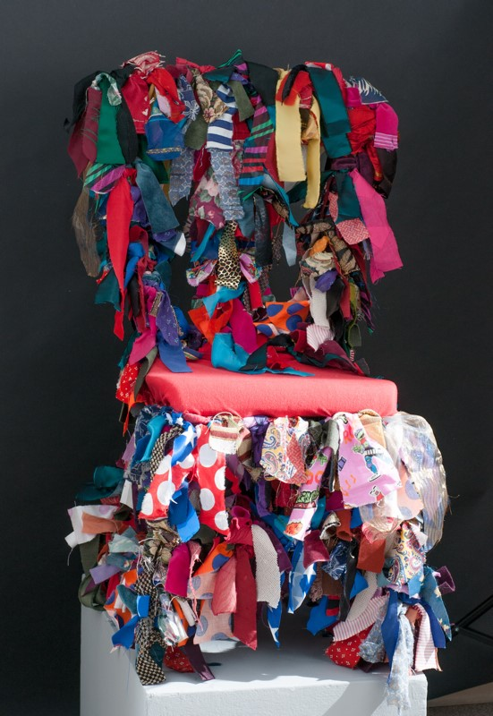 Lynne-Hunter-Johnston-Textile-Memories-on-Grandmas-Chair